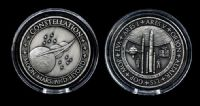 NASA Rocket Flown Constellation Program Medallion